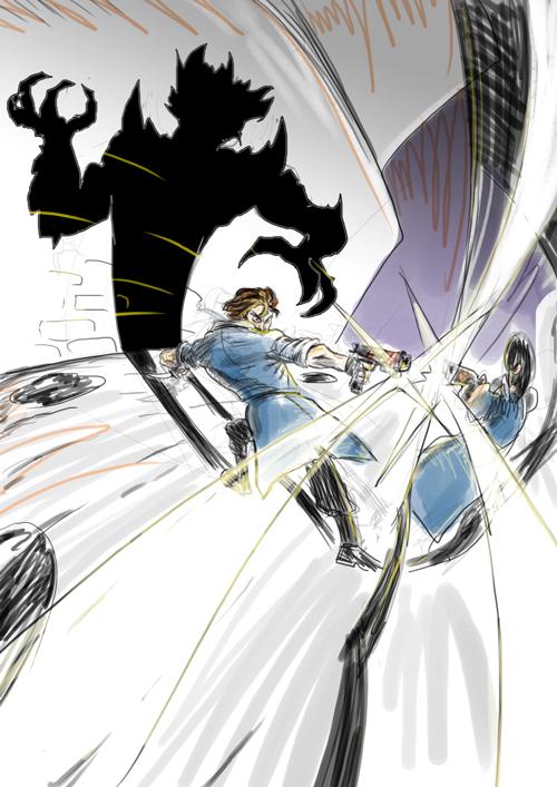 Dynamic Sketch by fan4battle