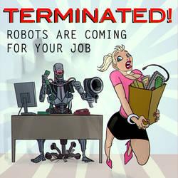 Terminator takes job