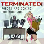 Terminator takes job by fan4battle