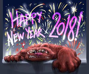 Happy New Year, Psychotic Bear! by fan4battle