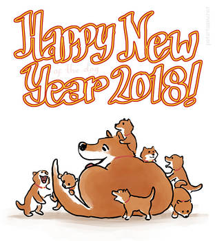 New Year of the Dog by fan4battle