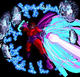 Magneto from X-Men: Children of the Atom by fan4battle