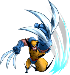 Mavel vs Capcom Wolverine