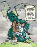 Dragonesque attitude by fan4battle