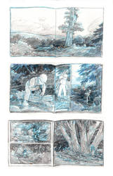 Puente Storyboard pg 4 to 9 by carbono14