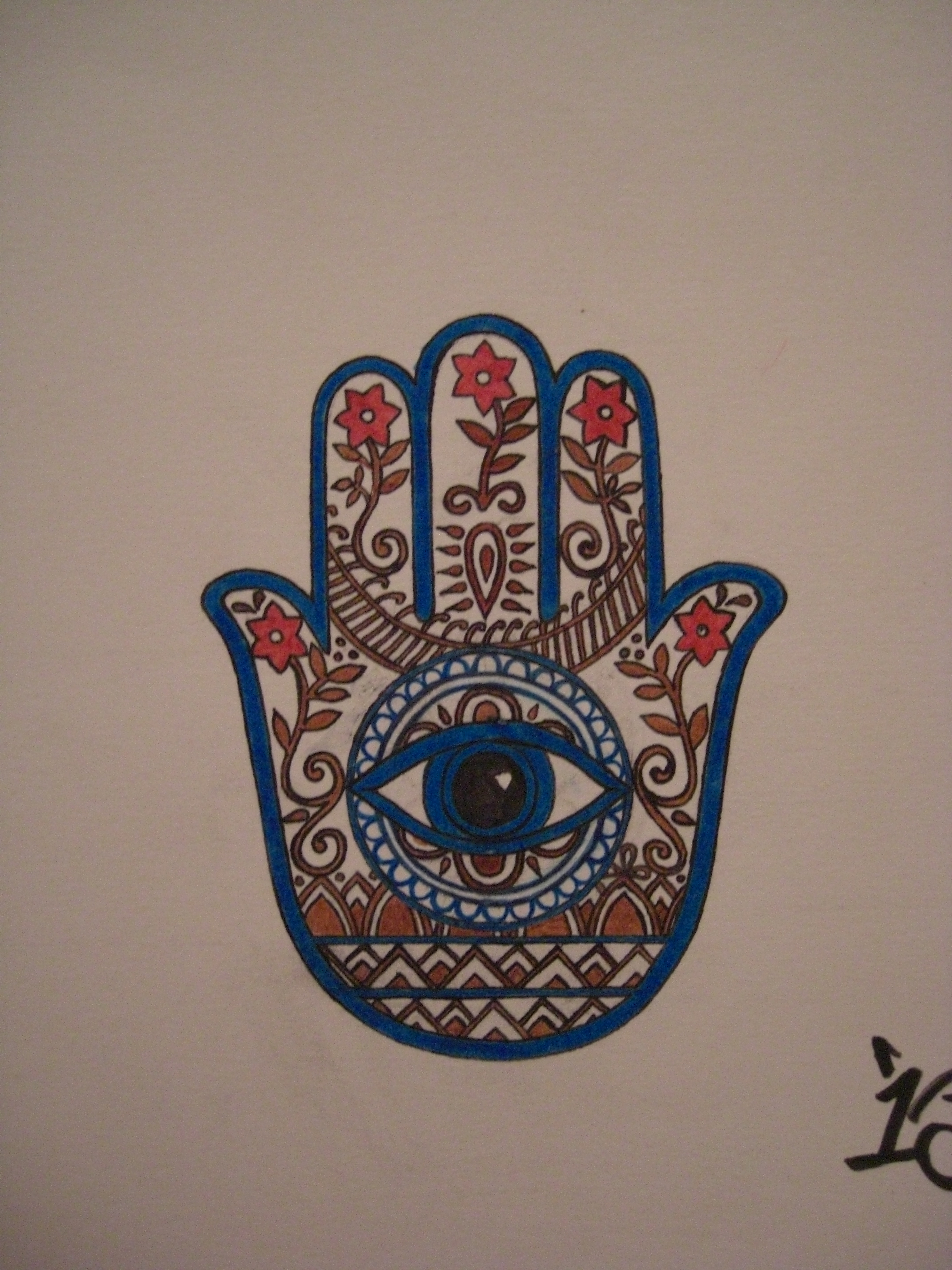 Mehndi Hand With Eye : Ink on pinterest hamsa tattoo and hand
