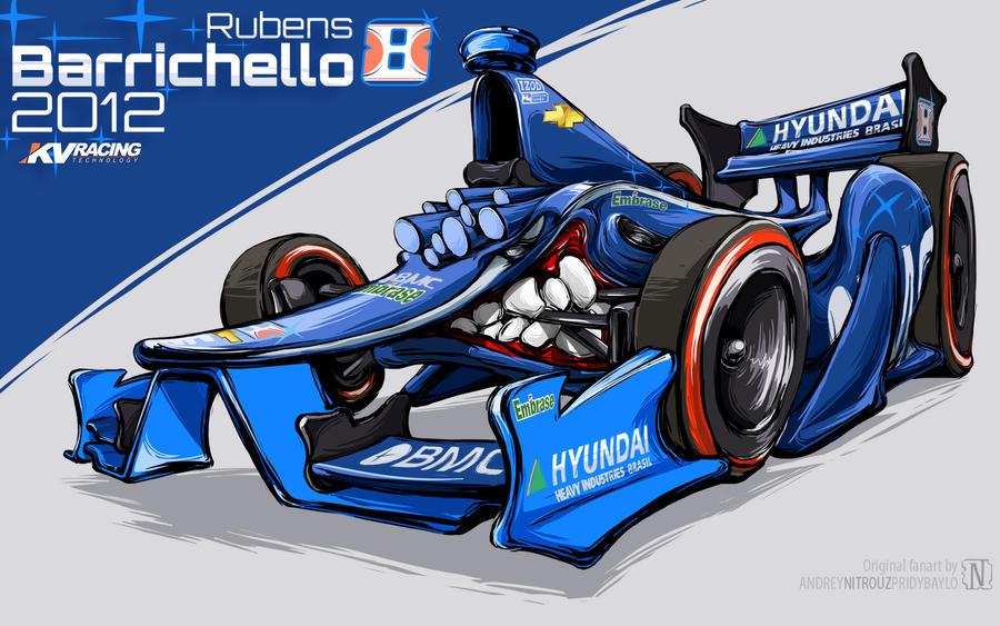 Rubens Barrichelo 2012 by nitrouzzz