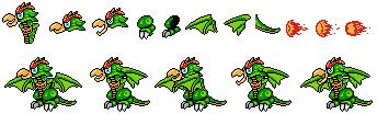 Parrot Dragon (Megaman Style) by GamingFan1997