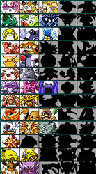 Pokemon Fighting Game Characters (1st Generation) by GamingFan1997