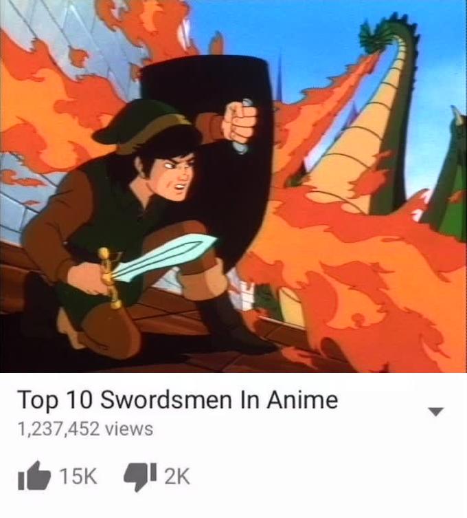 Top 10 Swordsmen In Anime by GamingFan1997
