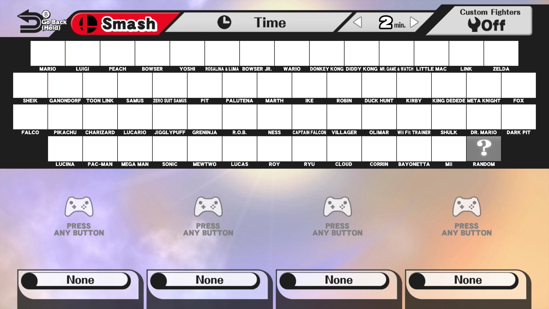 how to add characters to brawl