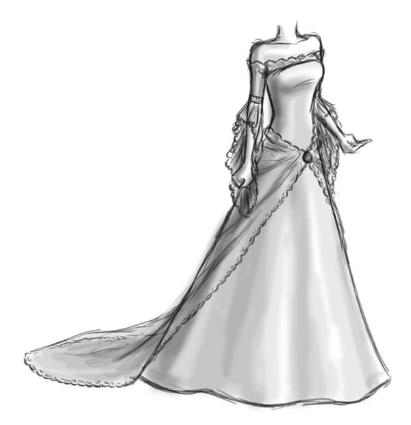 Wedding Dress by Catz87