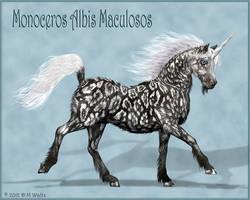 Monoceros Albis Maculosos by Daio