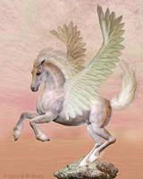 Dawn Pegasus by Daio