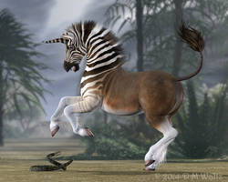 Quagga Unicorn by Daio