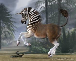 Quagga Unicorn by Daio