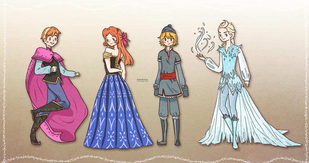 Frozen: Gender Swap! by ammdakin