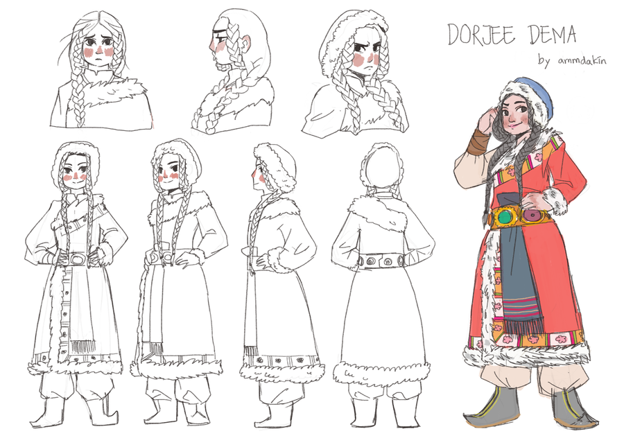 Character Design Journal : Contest princess design sheet challenge by disney