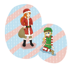 Chibi Christmas by Tsukiyochi