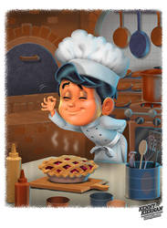 Boy Chef by Kenny Kiernan