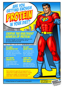 Protein Superhero by Kenny Kiernan