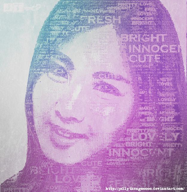 typographic seobaby?? by JellYTaengooOoO