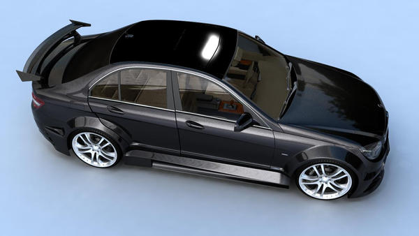 Mercedes C Class by Gliblord
