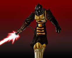 Steampunk Vader by DeuceOhNegative