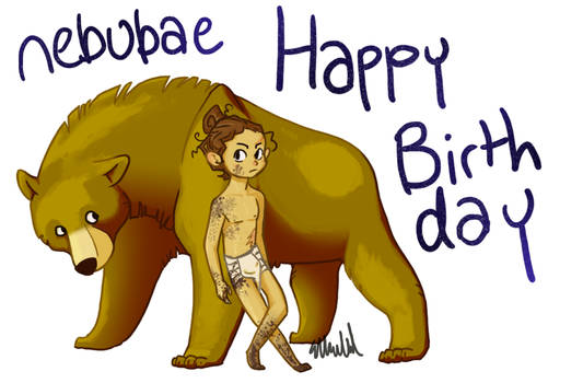 Happy Birthday nebubae!