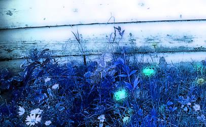 Garden in Blue