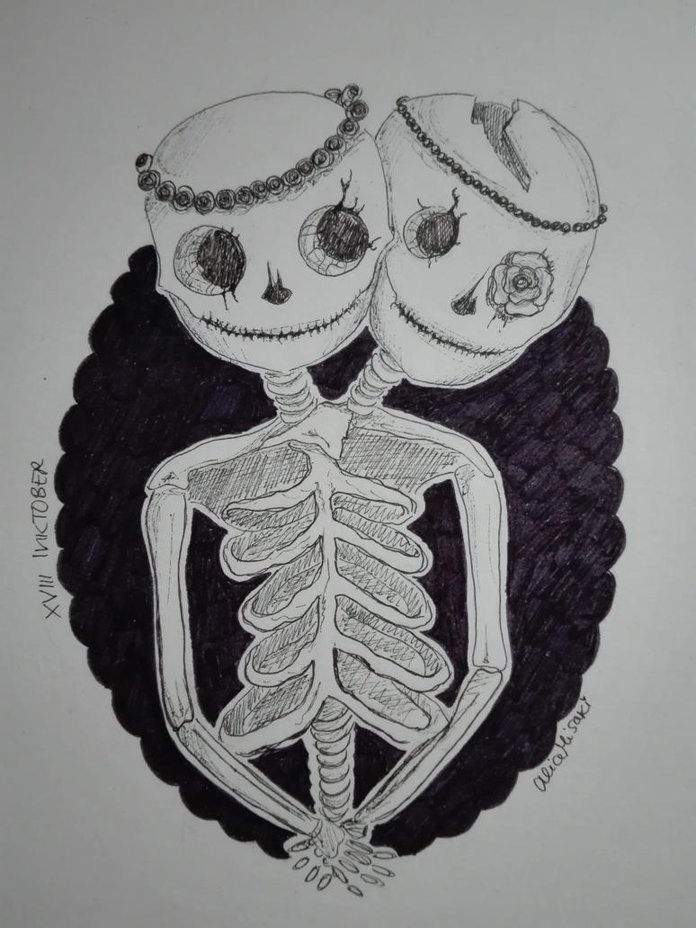 xviii_inktober_2018___skeleton_by_alicem