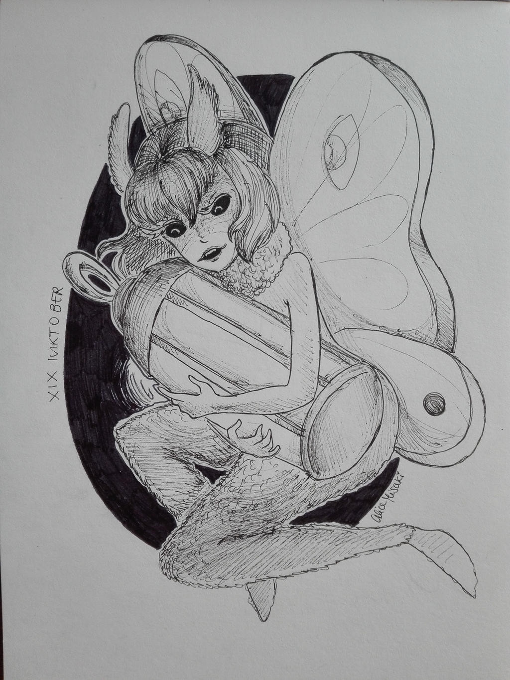 xix_inktober_2018___moth_by_alicemisakii