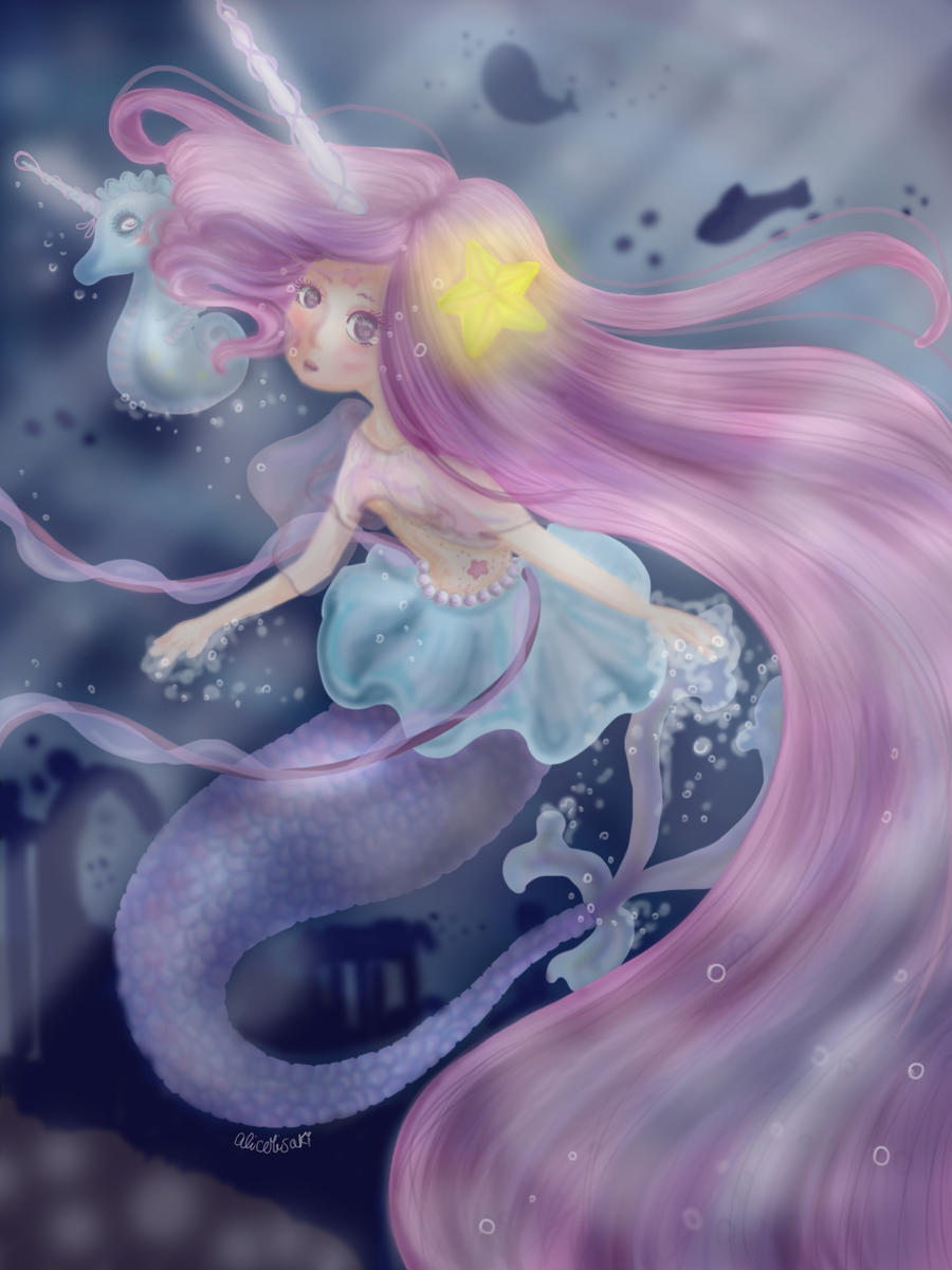 2_31_unicorn_mermaid_by_alicemisakiit_dd