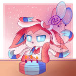 I'm late to my own birthday! by ShyFries