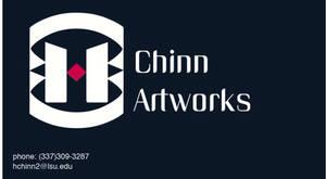 Chinn Artworks business card