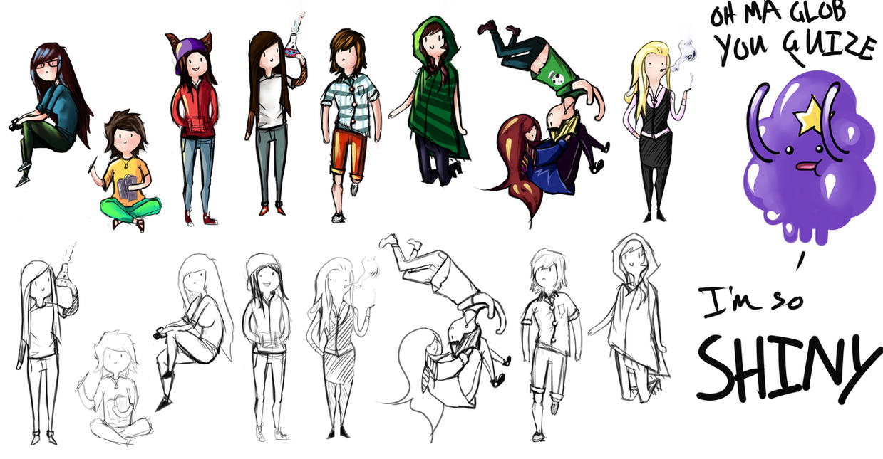 Character Design Adventure Time : Adventure time character dump plus lsp by romashi on