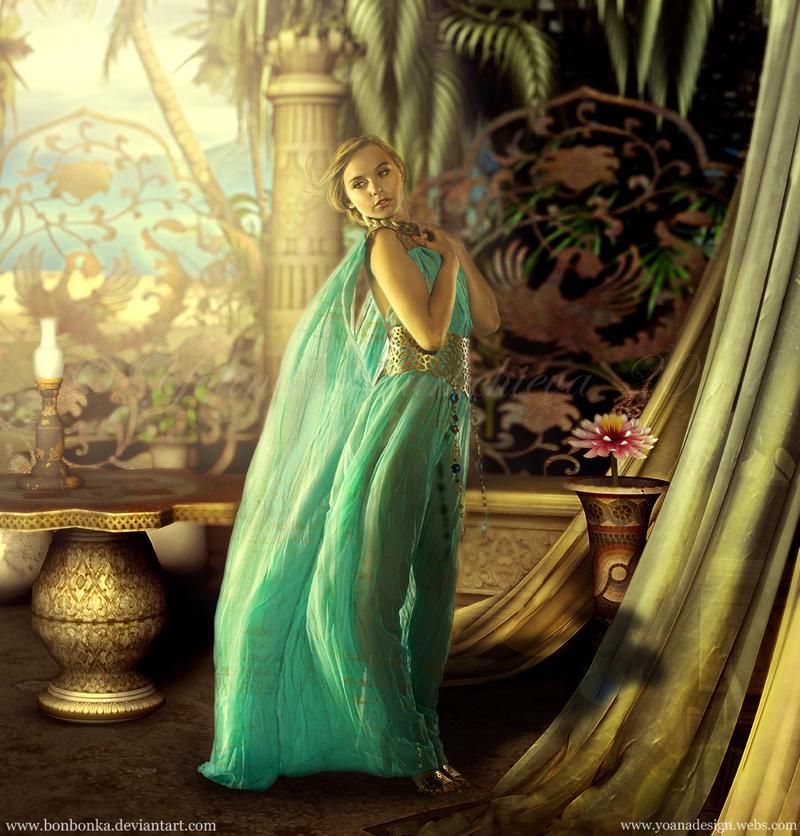 Exotic Beauty by bonbonka