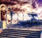 Magic Fountain Free Gift Background by bonbonka