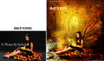 Autumn Mystery Before-After