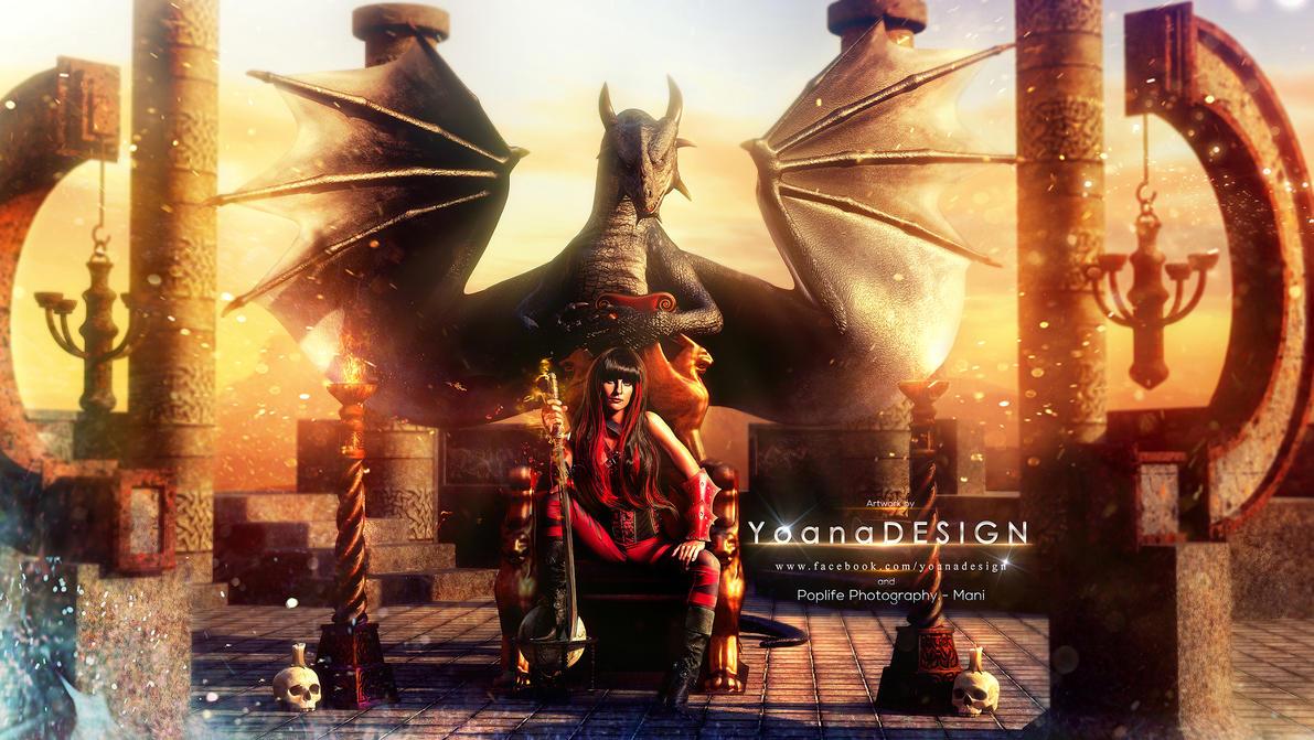 The Dragon Keeper by bonbonka