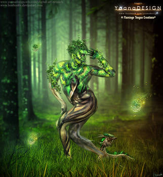 Forest Spirit by bonbonka