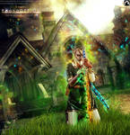 Green Magic by bonbonka