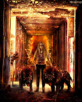 The Hounds of Hell by bonbonka