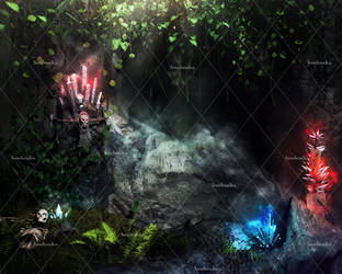 Mystic Places Stock Background 3 by bonbonka