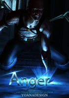 Anger Premade Book Cover Design by bonbonka