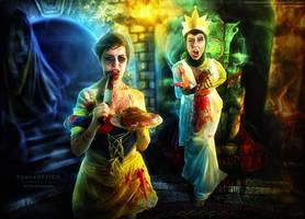 Evil Snow White by bonbonka