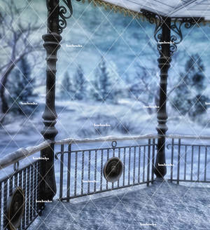 Winter Places 2 Stock Background 1