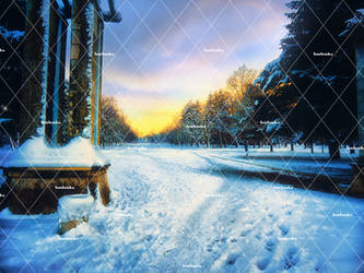 Winter Places 2 Stock Background 2