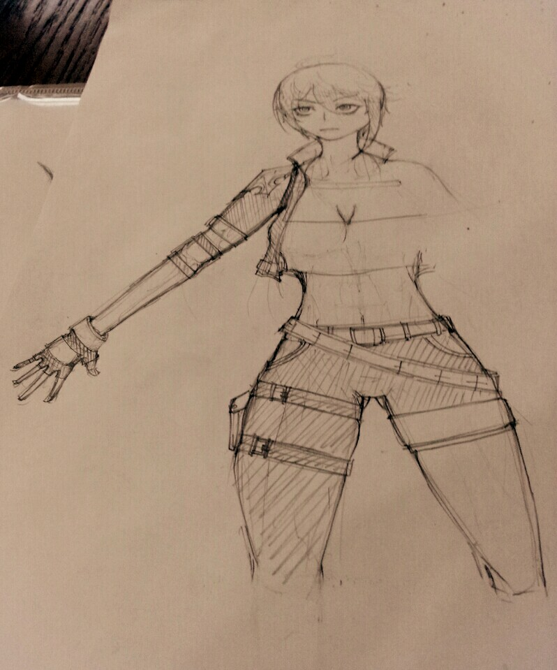 Failed drawing Rebecca.. Angle Errors.. by PixAve on DeviantArt