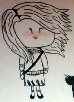 Small Girl(doodle) by homestucklover135